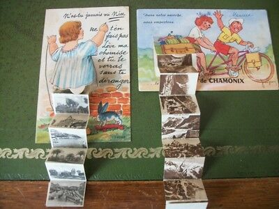 cartes postales ancienne a systeme