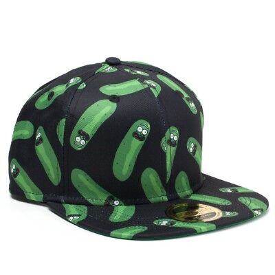 NEW OFFICIAL Rick and Morty Pickle Rick Baseball Cap Hat Snapback