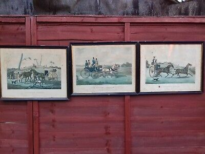 Antique Rare Georgian 19th Century H. Alken Hunting, Sporting Etchings Prints