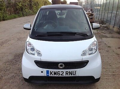2012 Smart Car Fortwo Pure 61 Mhd 1.0 Petrol Automatic With Eco Button