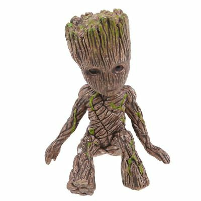 Cute Guardians of the Galaxy Groot Sitting Baby Action Figure Toys Decor Gifts
