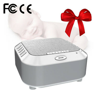 Sound Machine White Noise Generator Spa Easy Sleep Baby Relax Therapy Kids Sleep