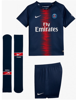 ensemble psg paris enfant maillot short chaussettes 2018 2019 kid eur 69 00 picclick fr. Black Bedroom Furniture Sets. Home Design Ideas