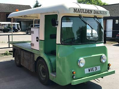 UNIQUE OPPORTUNITY TO BUY UP TO 3 IDENTICAL 1960's HARBILT ELECTRIC MILK FLOATS