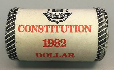 1982 Canadian Confederation / Constitution Unopened Dollar Roll