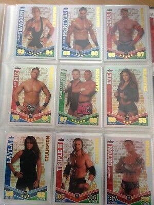 Topps Wwe Slam Attax Collection 2010
