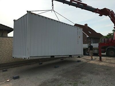 """20"""" HC ISO Container Überseecontainer shipping container *Zertifizierung & TÜV*"""