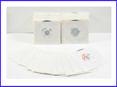 """Lot Of 100 45 RPM 7"""" Records Excellent And Near Mint Condition"""