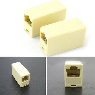 10X Cat5 5e RJ45 Netzwerk Kabel Stecker Ethernet Lan Cable Plug Connector Hot