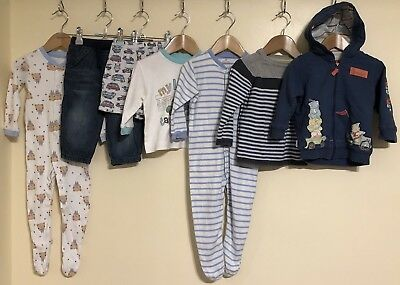 0f747dbcf BABY BOYS Spring Summer Large Clothes Bundle Age 9-12 Months Next ...