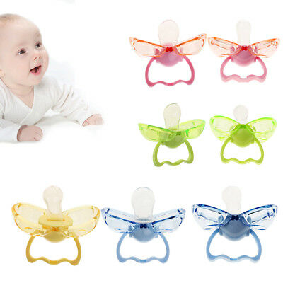 Newborn Kids Orthodontic Dummy Pacifier Infant Silicone Teat Nipple Soother