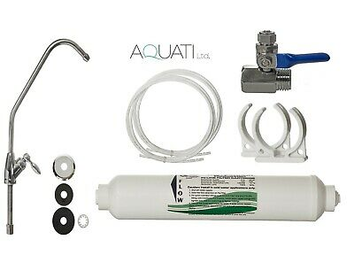 Premium Home Under Sink Tap Water Purifier & Dechlorinator Filter System Aquati