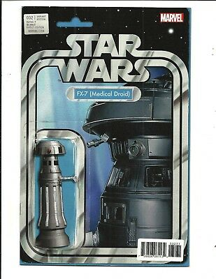 Star Wars # 32 (Fx-7 [Medical Droid] Action Figure Variant Comic, 2017) Nm New