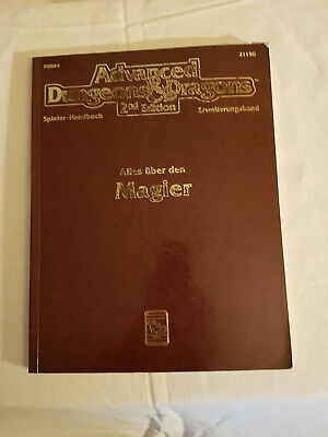 AD&D/Dungeons and Dragons/D&D - Alles über den Magier - TSR 2115G