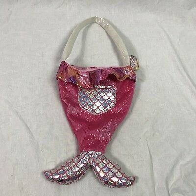 Ganz Shimmer Cove Mermaid pink Children's kids purse bag NWT ~ KDS