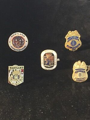 Maryland Police Pin Collecter