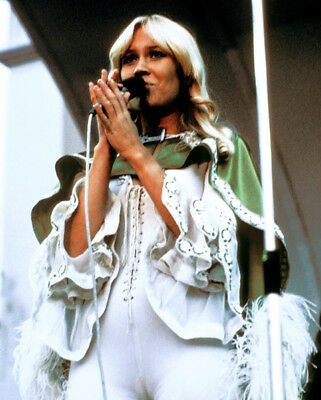 10 x Agnetha Faltskog UNSIGNED photographs - Member of ABBA - OFFER #1