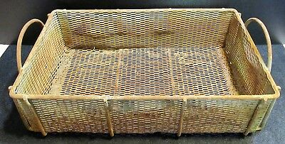 Wire Basket XLarge Industrial Vintage Large Metal Industrial Basket Metal Box