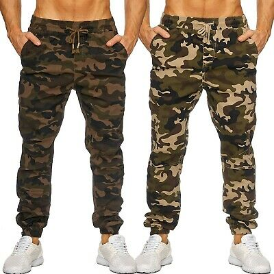 0721c2eb4c Mens Cargo Casual Trousers Camouflage Pants Camouflage Pattern stretch Army  Styl