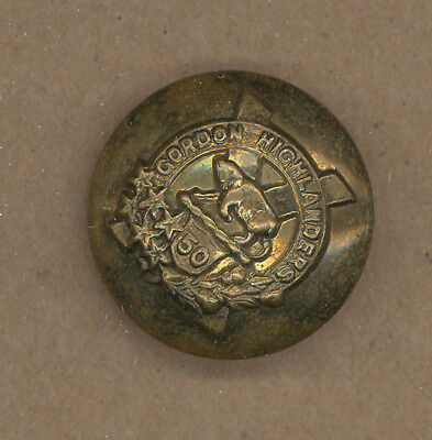 Button - 50Th Gordon Highlanders, Canada