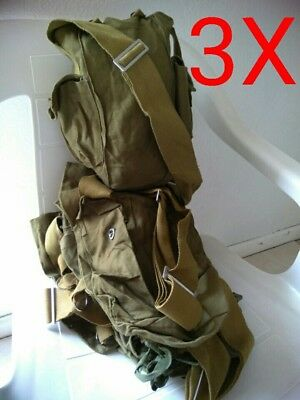 3X USSR Soviet Carrying Bag for Gas Mask GP5 Russian Military Surplus GIFT