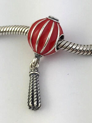 Authentic Pandora Chinese Lantern Sterling Silver Bead Charm 791299EN09 New