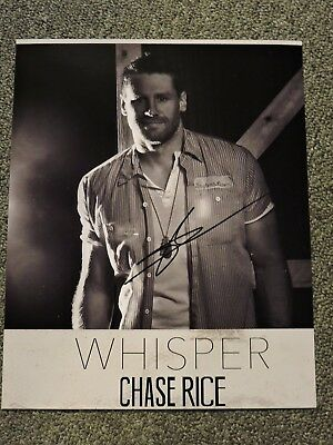 Chase Rice  Country Music  Autographed / Signed Photo