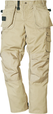Fristads Craftsmans Zip-Off Trousers Turn Into Shorts Sand Colour