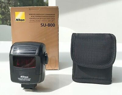 Nikon SU-800 wireless speedlight commander with case MINT-  boxed