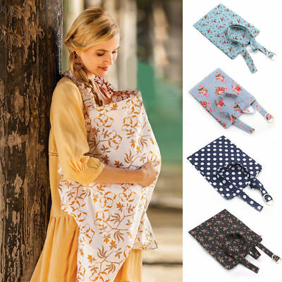 Nursing Scarf Cover Up Apron for Breastfeeding & Baby Car Seat Canopy Maternity