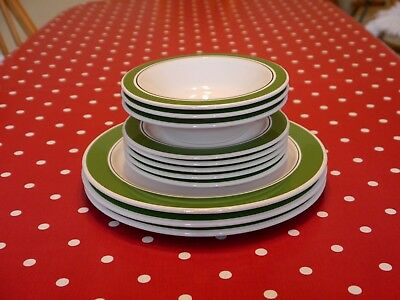 Vintage Hornsea pottery plates and bowls