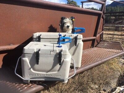 """Cattlevacbox Boss 'Double Insulated"""" Free shipping to lower 48. MADE in USA"""