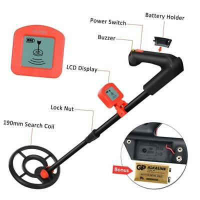 Metal Detector For Kids And Beginners With Lcd Display Detects Gold Coins Silver