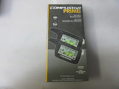 Compustar RF-2W7032-SH-CN 2-Way LED Remote kit