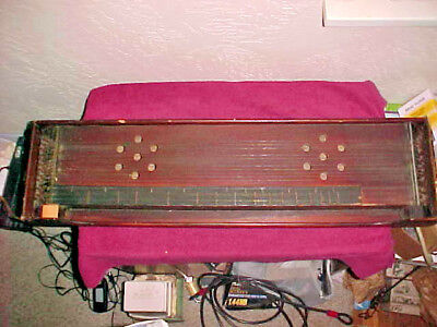 antique HARPSICHORD? STEEL? GUITAR