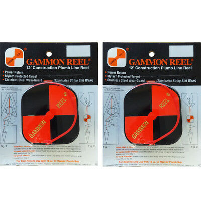 12 Foot HiViz Gammon Reel #012B