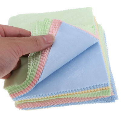 Microfiber Cloth To Clean Phone Screen Camera Lens Eye Glasses 4pcs  5x5 inch