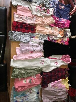 Large Bundle Of Girls Clothes Age 3-4