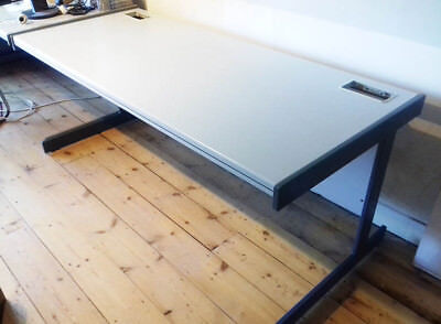 Large Grey Office Desks - 4 available