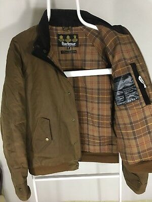 Barbour Men's Waxed Jacket Coat Size M