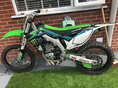 Kawasaki kxf 450 low miles 2015 launch control