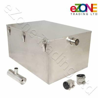 Commercial Sink Grease Trap Restaurant Drain Waste Fat Oil Separator Interceptor