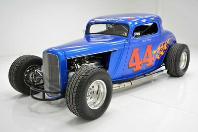 Ford 3-Window Coupe Racing Style 350ci 385hp Tremec 5-Speed 5k Miles Since Completed