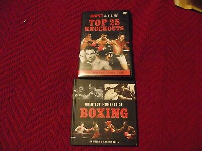 Boxing Top 25 K.o's  Dvd And Greatest Moments In Boxing Book