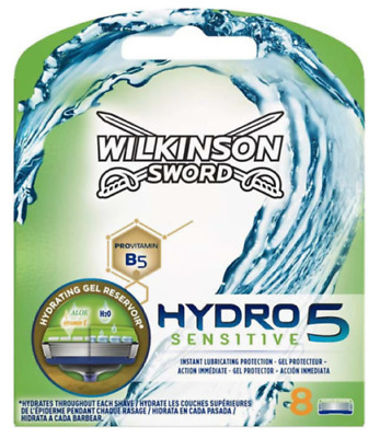 Wilkinson Sword Hydro 5 Sensitive Razor Blades 4,8,12, 24