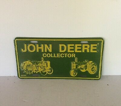 John Deere License Plate Tag