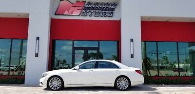 2016 Mercedes-Benz S-Class  2016 S550 - 1 OWNER FLORIDA CAR - LOADED WITH OPTIONS - BEST COLORS