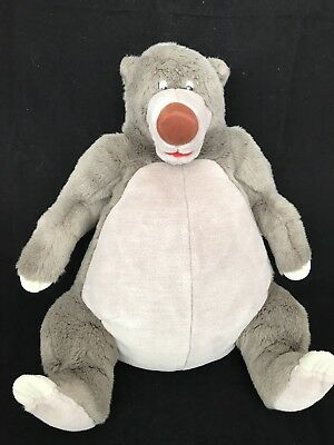 Large Baloo Pj Storage Soft Toy Plush Jungle Book Disney