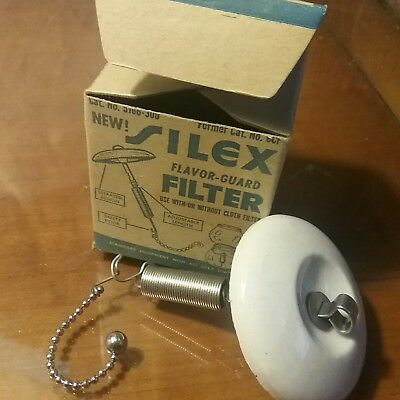 Replacement Ceramic Disk Filter for Vtg SILEX Vacuum / Siphon Coffee Maker