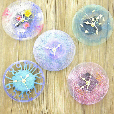 1pc Silicone Mold jewelry big Clock Resin Mould handmade tool DIY epoxy molds TO